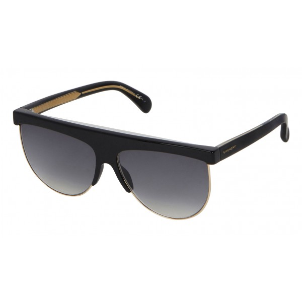 Givenchy - GV Squared Oversized Sunglasses in Acetate and Metal - Gray - Sunglasses - Givenchy Eyewear
