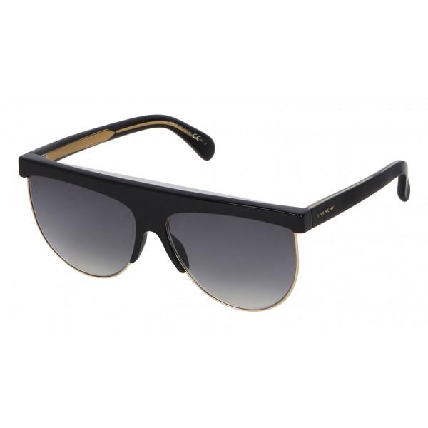 Givenchy - Occhiali da Sole Oversize GV Squared in Acetato e Metallo - Grigi - Occhiali da Sole - Givenchy Eyewear
