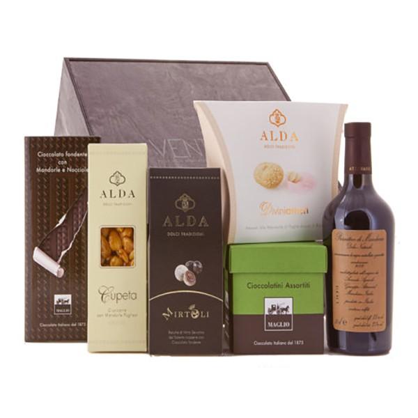 Ventuno - Puglia Capriccio Dolce Food Box - Cupeta Reale - Mirtoli - Eccellenze Italiane - Gift Box Multisensoriale