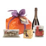Ventuno - Natale al Nord con Franciacorta D.O.C.G. Food Box - Panettone - Eccellenze Italiane - Gift Box Multisensoriale