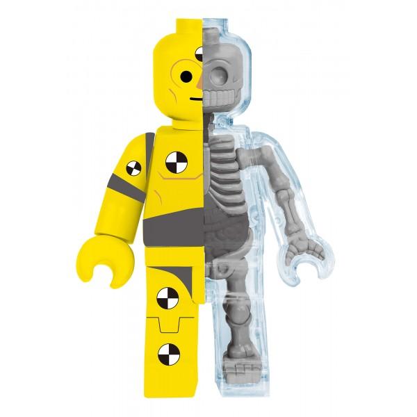 Fame Master - Small Brick Man - Test Dummy - 4D Master - Mighty Jaxx - Jason Freeny - Body Anatomy - XX Ray - Art Toys