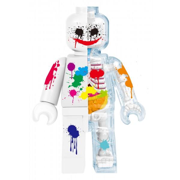 Fame Master - Small Brick Man - Joker - 4D Master - Mighty Jaxx - Jason Freeny - Body Anatomy - XX Ray - Art Toys