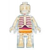Fame Master - Uomo di Mattoncini - Lego - Clear - 4D Master - Mighty Jaxx - Jason Freeny - Body Anatomy - XX Ray - Art Toys