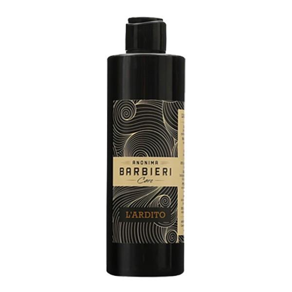 Anonima Barbieri - L'Ardito - Shampoo Energizzante - Delicato sulla cute - Privo di Solfati - Shampoo Doccia Idratante
