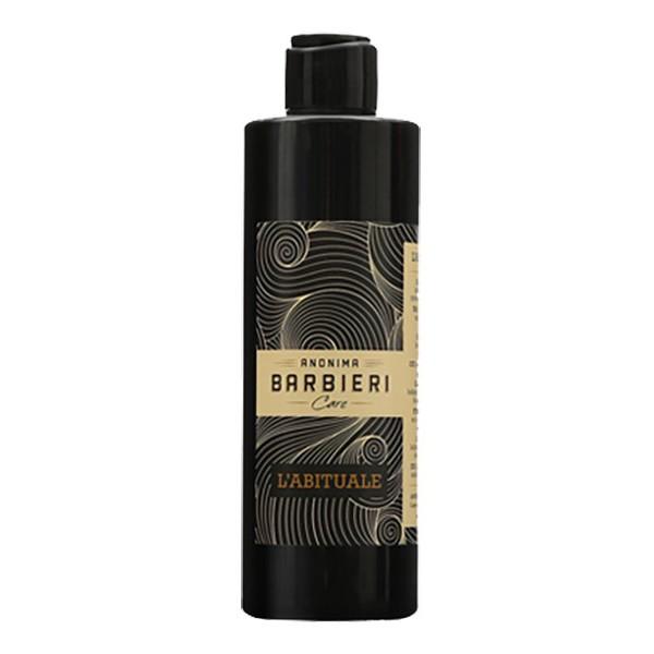 Anonima Barbieri - L'Abituale - Shampoo Doccia - Prodotto Unico per Capelli e Corpo - Shampoo Doccia Idratante