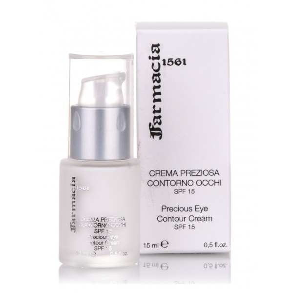Farmacia SS. Annunziata 1561 - Eye Contour Precious Cream SPF15 - Lifting Smoothing and Bio-Revitalizing Effect