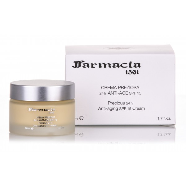 Farmacia SS. Annunziata 1561 - Precious Cream 24H SPF15 - Redensifying, Recompacting and Filler