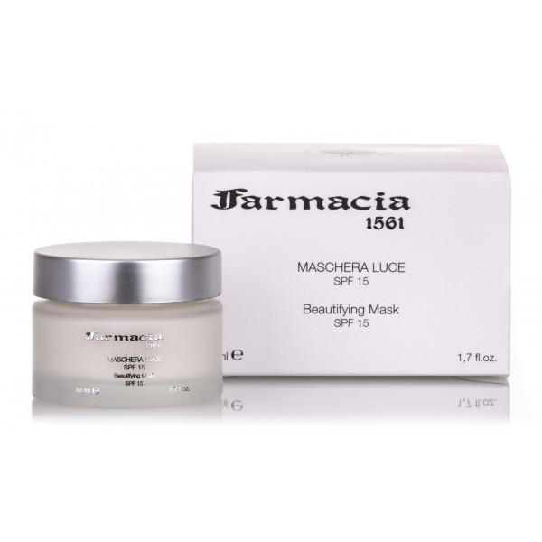 Farmacia SS. Annunziata 1561 - Light Mask SPF15 - Firming and Reshaping, Returns the Natural Shine and Elasticity to the Skin