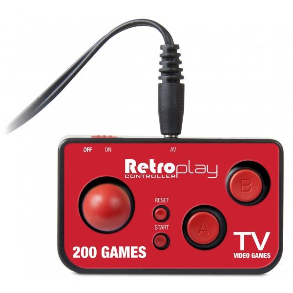 My Arcade - DGUN-2579 - RetroPlay Controller Gaming System con 200 Videogiochi - Gioco Portatile da Collezione - Retro Gaming