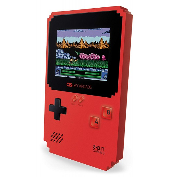 My Arcade - DGUNL-3201 - Pixel Classic Handheld Gaming System - 300 Games - 8 Data East™ Titles - Portable - Retro Gaming