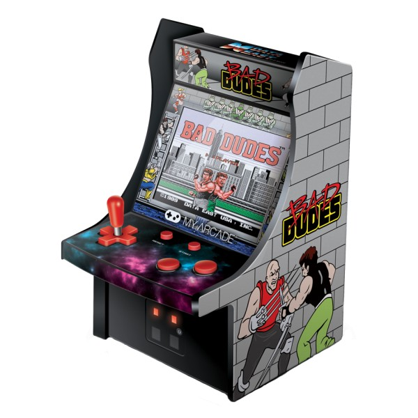 My Arcade - DGUNL-3214 - Bad Dudes™ Micro Player™ - Micro Player Portatile da Collezione - My Arcade - Retro Gaming