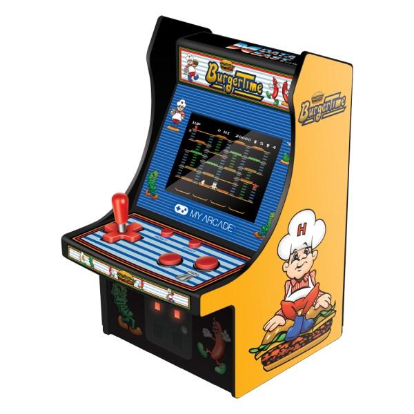 My Arcade - DGUNL-3203 - BurgerTime™ Micro Player™ - Micro Player Portatile da Collezione - My Arcade - Retro Gaming