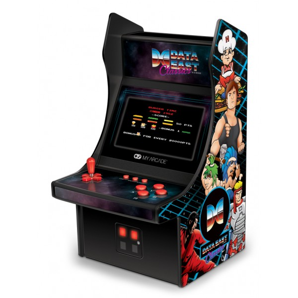 My Arcade - DGUNL-3200 - Data East™ Mini Player™ - Mini Player Portatile da Collezione - My Arcade - Retro Gaming
