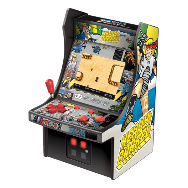 My Arcade - DGUNL-3205 - Heavy Barrel™ Micro Player™ - Micro Player Portatile da Collezione - My Arcade - Retro Gaming