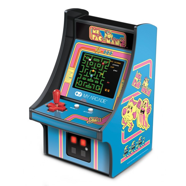 My Arcade - DGUNL-3230 - Ms.Pac-Man™ Micro Player™ - Collectible Portable Micro Player - My Arcade - Retro Gaming
