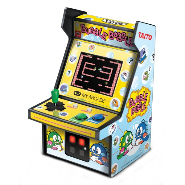 My Arcade - DGUNL-3241 - Bubble Bobble™ Micro Player™ - Collectible Portable Micro Player - My Arcade - Retro Gaming