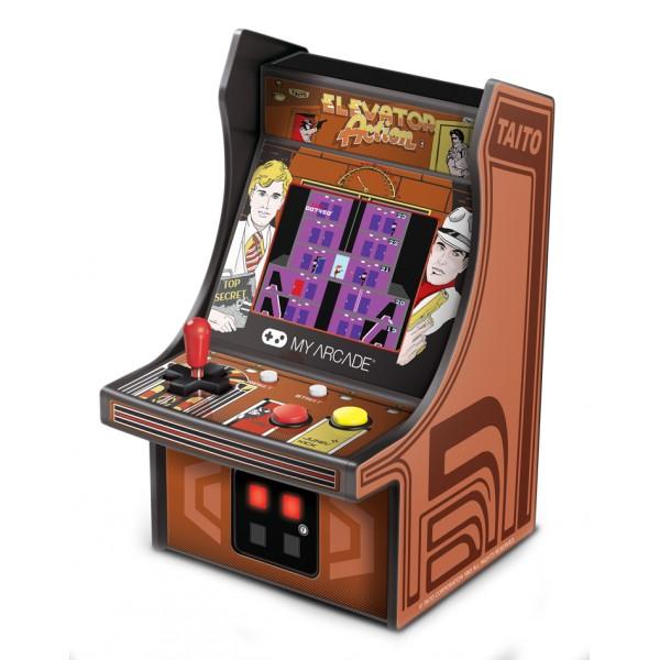 My Arcade - DGUNL-3240 - Elevator Action™ Micro Player™ - Micro Player Portatile da Collezione - My Arcade - Retro Gaming