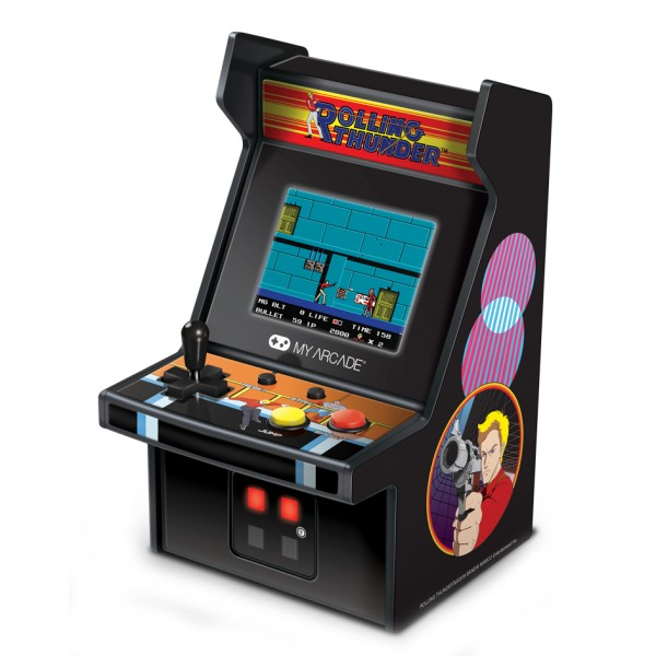 My Arcade - DGUNL-3225 - Rolling Thunder™ Micro Player™ - Collectible Portable Micro Player - My Arcade - Retro Gaming
