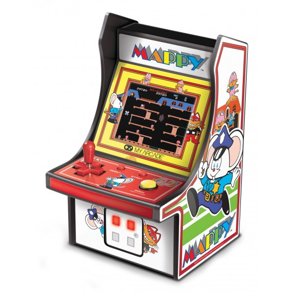 My Arcade - DGUNL-3224 - Mappy™ Micro Player™ - Collectible Portable Micro Player - My Arcade - Retro Gaming