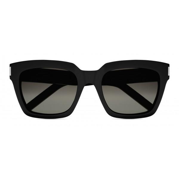 Yves Saint Laurent - Occhiali da Sole Bold SL1 con Montatura Spessa Quadrata - Nylon Nero - Saint Laurent Eyewear