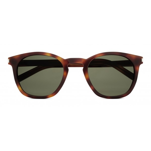c50d322f565 Yves Saint Laurent - Classic SL 28 Sunglasses with Rounded Square Frame -  Light Havana - Saint Laurent Eyewear - Avvenice