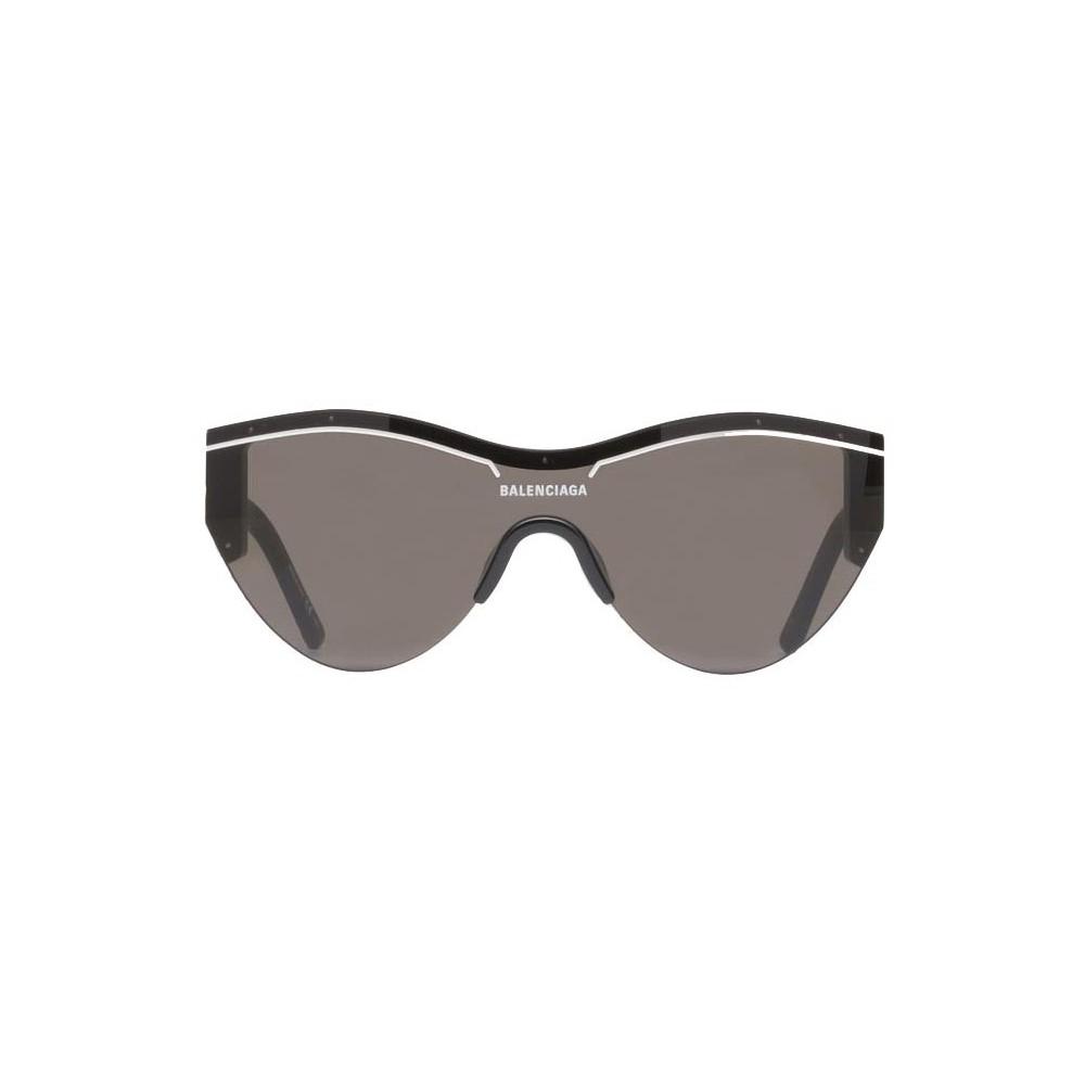 a237bfcd071 Balenciaga - Ski Cat Sunglasses in Black Acetate with Black Lenses -  Sunglasses - Balenciaga Eyewear - Avvenice