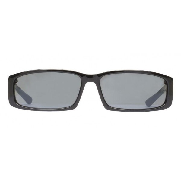 Balenciaga - Neo Square Sunglasses in Black Acetate with Black Lenses - Sunglasses - Balenciaga Eyewear