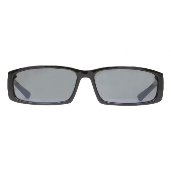 Balenciaga - Occhiali da Sole Neo Square in Acetato Nero con Lenti Nere - Occhiali da Sole - Balenciaga Eyewear