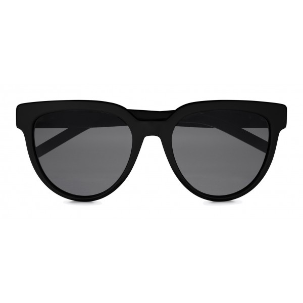 2b91f55a2df Yves Saint Laurent - Monogramme SL M28 Cat Eye Sunglasses with Nylon Lenses  and Acetate Temples - Black - Saint Laurent Eyewear - Avvenice