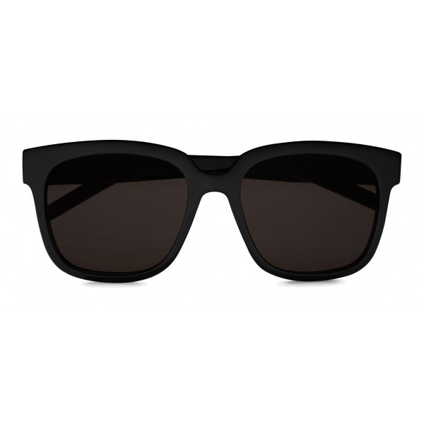 fad2ea98f5c Yves Saint Laurent - Monogramme SL M40 Cat Eye Sunglasses with Nylon Lenses  and Acetate Temples - Black - Saint Laurent Eyewear - Avvenice