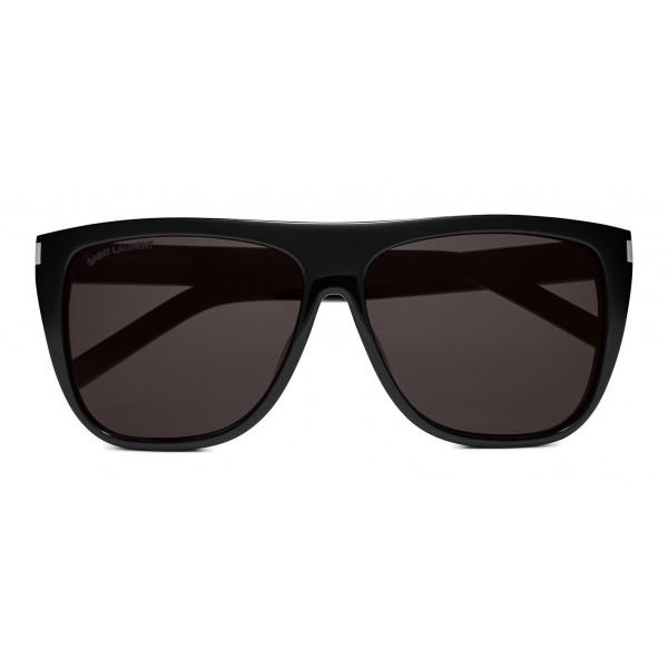4bbdec7d71c Yves Saint Laurent - New Wave SL 1 Sunglasses with Thick Frame - Black - Saint  Laurent Eyewear - Avvenice