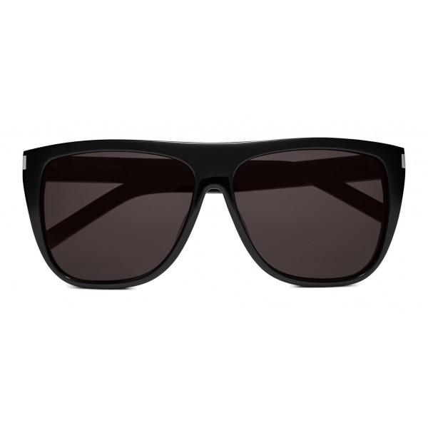 fe84c5f1b Yves Saint Laurent - New Wave SL 1/F Stars Sunglasses with Square  Wellington Frame with Crystals - Black - Saint Laurent Eyewear - Avvenice