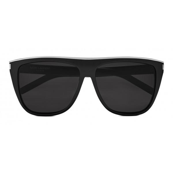 3cc1545a61d Yves Saint Laurent - New Wave SL 1 Combi Sunglasses with Thick Frame -  Black - Saint Laurent Eyewear - Avvenice