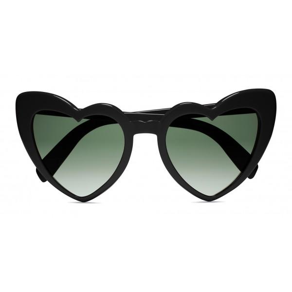 46a0a12d75c2 Yves Saint Laurent - New Wave 181 Leulou Heart Sunglasses with Black Motif  - Sunglasses - Yves Saint Laurent Eyewear - Avvenice