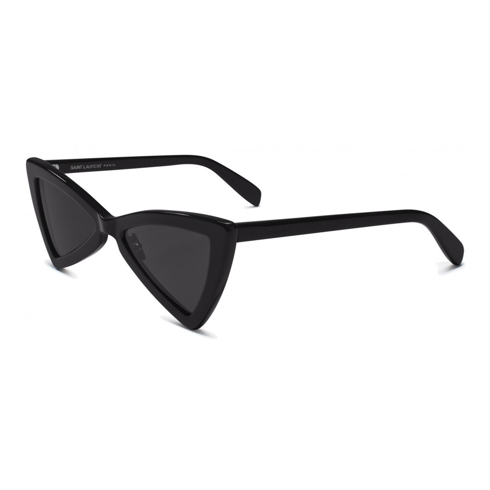 613575215f ... Yves Saint Laurent - New Wave SL 207 Jerry Sunglasses with Triangular  Frame - Black -