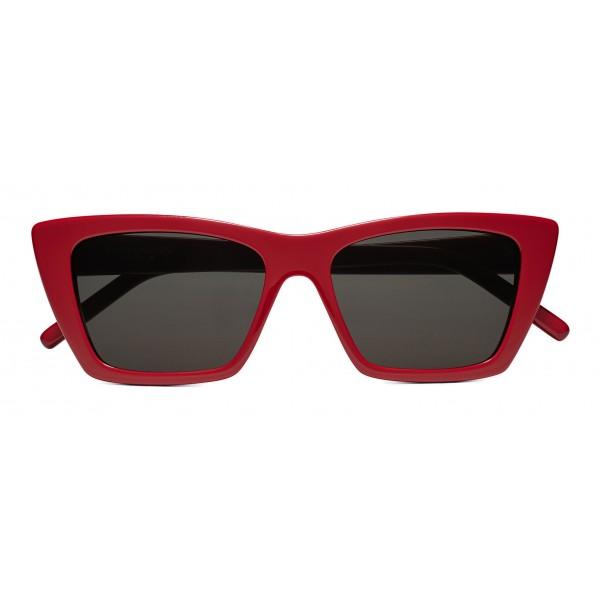 2afa3b3a18a Yves Saint Laurent - New Wave SL 276 Sunglasses with Triangular Frame - Red  - Saint Laurent Eyewear - Avvenice
