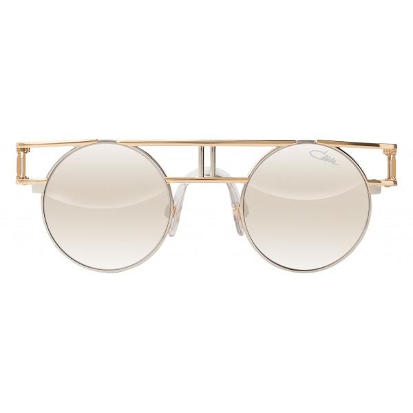 Cazal - Vintage 958 - Legendary - Oro Bianco - Occhiali da Sole - Cazal Eyewear