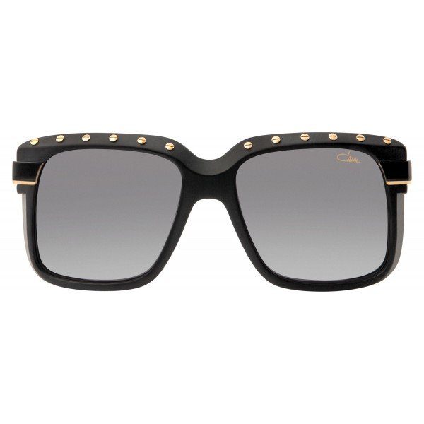 Cazal - Vintage 680 - Legendary - Limited Edition - Nero Opaco - Oro - Occhiali da Sole - Cazal Eyewear