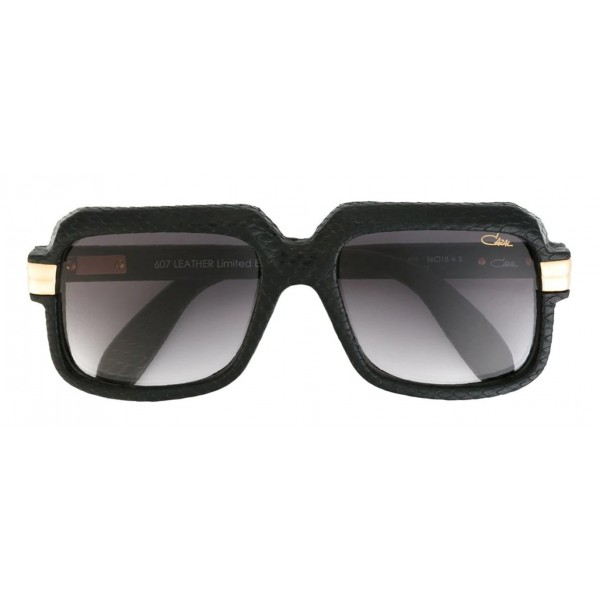 Cazal - Vintage 607 in Pelle - Legendary - Limited Edition - Rosso - Nero - Occhiali da Sole - Cazal Eyewear