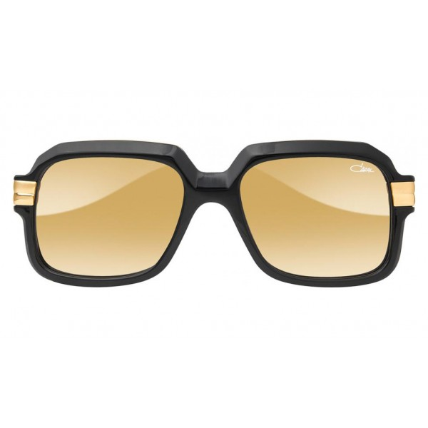 Cazal - Vintage 667 - Legendary - Limited Edition - Black - Gold - Mirrored Lenses - Sunglasses - Cazal Eyewear