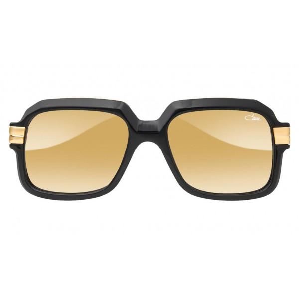 Cazal - Vintage 667 - Legendary - Limited Edition - Black - Gold - Mirrored Lenses - Sunglasses - Cazal Eyewear