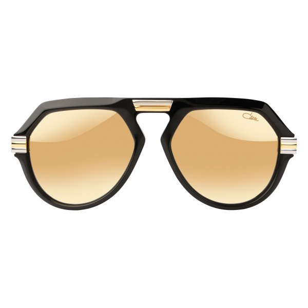 Cazal - Vintage 634 - Deluxe Model - Legendary - Limited Edition - Nero - Oro - Occhiali da Sole - Cazal Eyewear