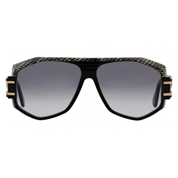 Cazal - Vintage 163 in Pelle - Legendary - Limited Edition - Neri - Occhiali da Sole - Cazal Eyewear