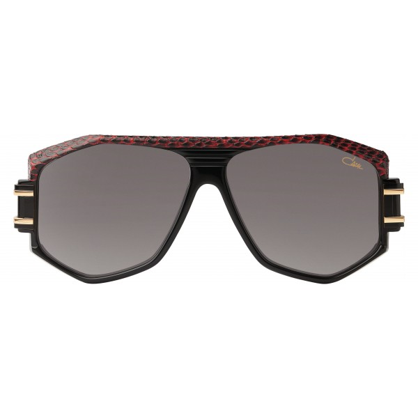 Cazal - Vintage 163 Leather - Legendary - Limited Edition - Black - Red - Sunglasses - Cazal Eyewear