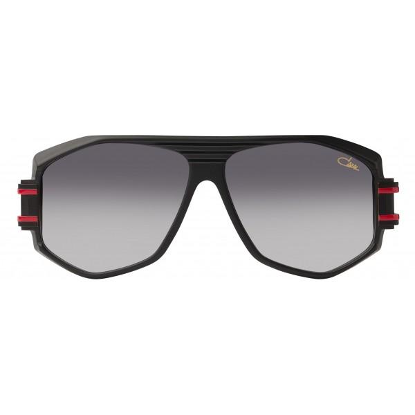 Cazal - Vintage 163 - Legendary - Red Matt with Black Trim - Sunglasses - Cazal Eyewear