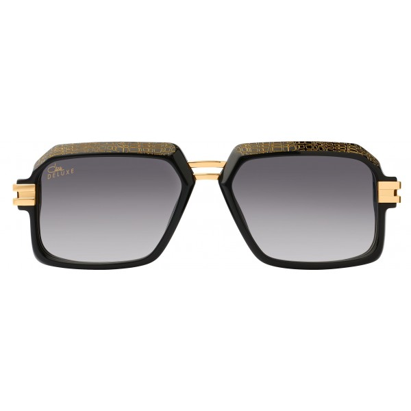 911a34360609 Cazal - Vintage 6004 3 100 - Legendary - Deluxe - Black Gold - Sunglasses -