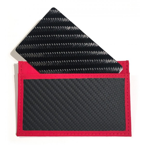 TecknoMonster - Tecksabrage & Cardcase - Red - Aeronautical and Titanium Carbon Fiber Saber - Black Carpet Collection