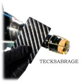 TecknoMonster - Tecksabrage & Cardcase - Nero - Sciabolatore in Fibra di Carbonio Aeronautico e Titanio - Carpet Collection