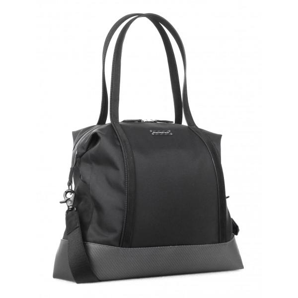 TecknoMonster - Borzy S Bag in Carbon Fiber and Alcantara® - Black Carpet Collection