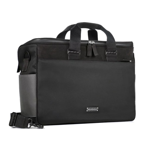 TecknoMonster - Teckpilot Bag in Carbon Fiber and Alcantara® - Black Carpet Collection